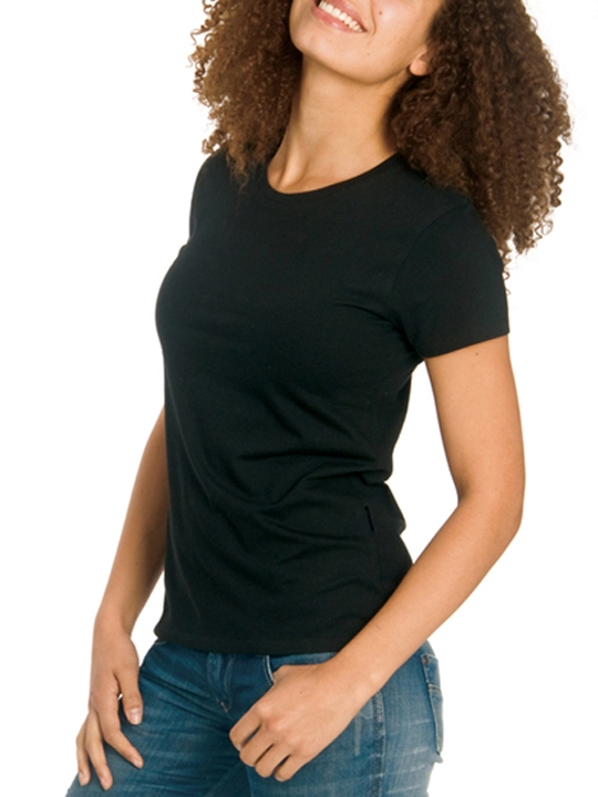 Dam-T-shirt-Organisk
