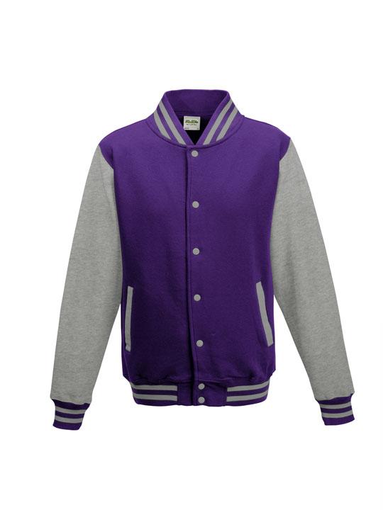 jh043 purple - heather grey