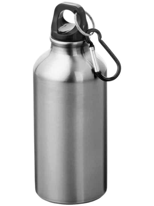 vattenflaska med eget tryck