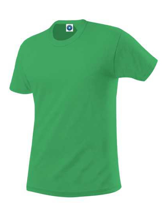 organisk-bomulls-t-shirt-G1-grön-sveriges-billigaste