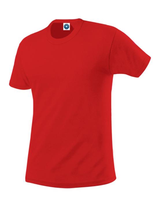 organisk-bomulls-t-shirt-G1-röd