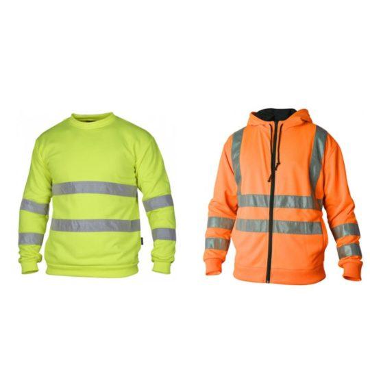 Varselhoodie och Varselsweatshirt med tryck