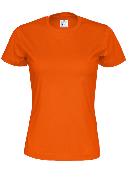 T-shirt Tjej CottoVer gul