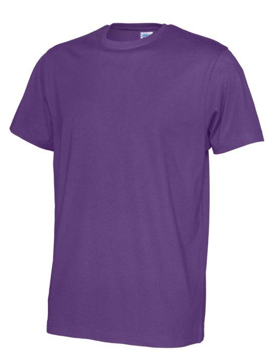 T-shirt ekologisk bomull CottoVer lilla