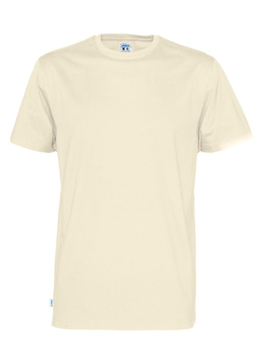T-shirt V-neck CottoVer offwhite