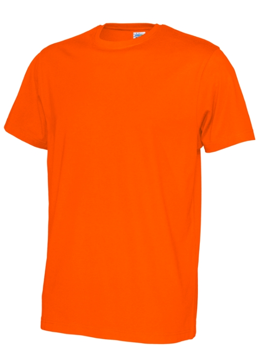 T-shirt ekologisk bomull CottoVer orange