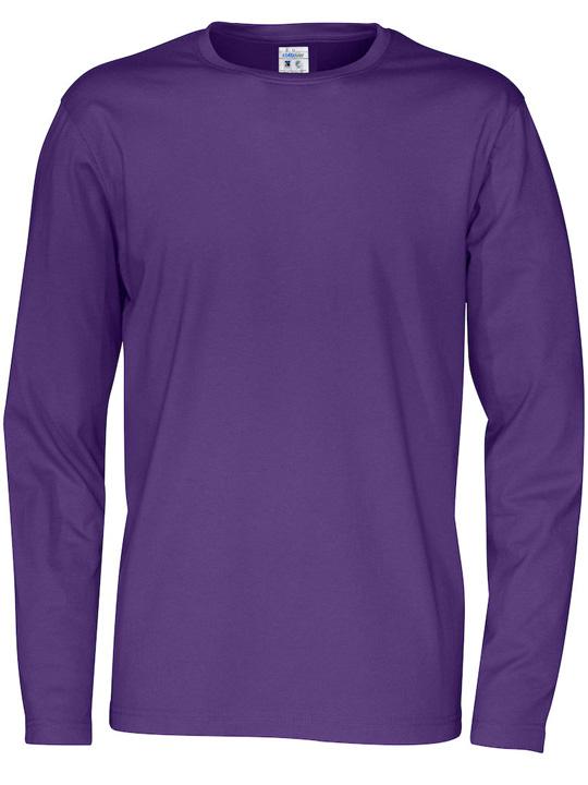 T-shirt långärmad CottoVer orange