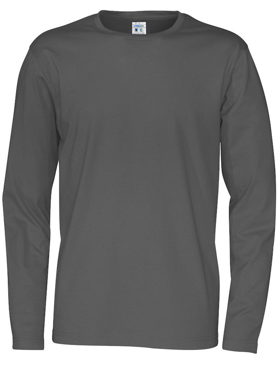 141020_980_R neck LS tee_men_F_charcoal_Preview
