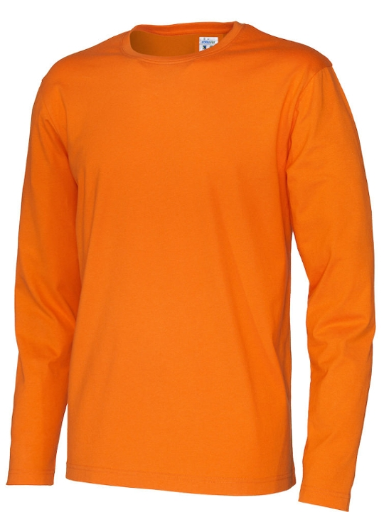 T-shirt långärmad CottoVer orange