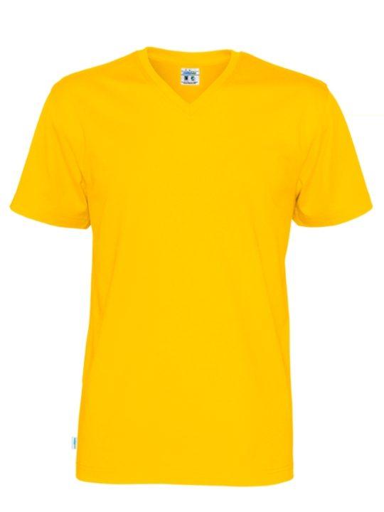 T-shirt V-neck CottoVer orange