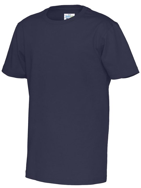 T-shirt barn CottoVer marinblå