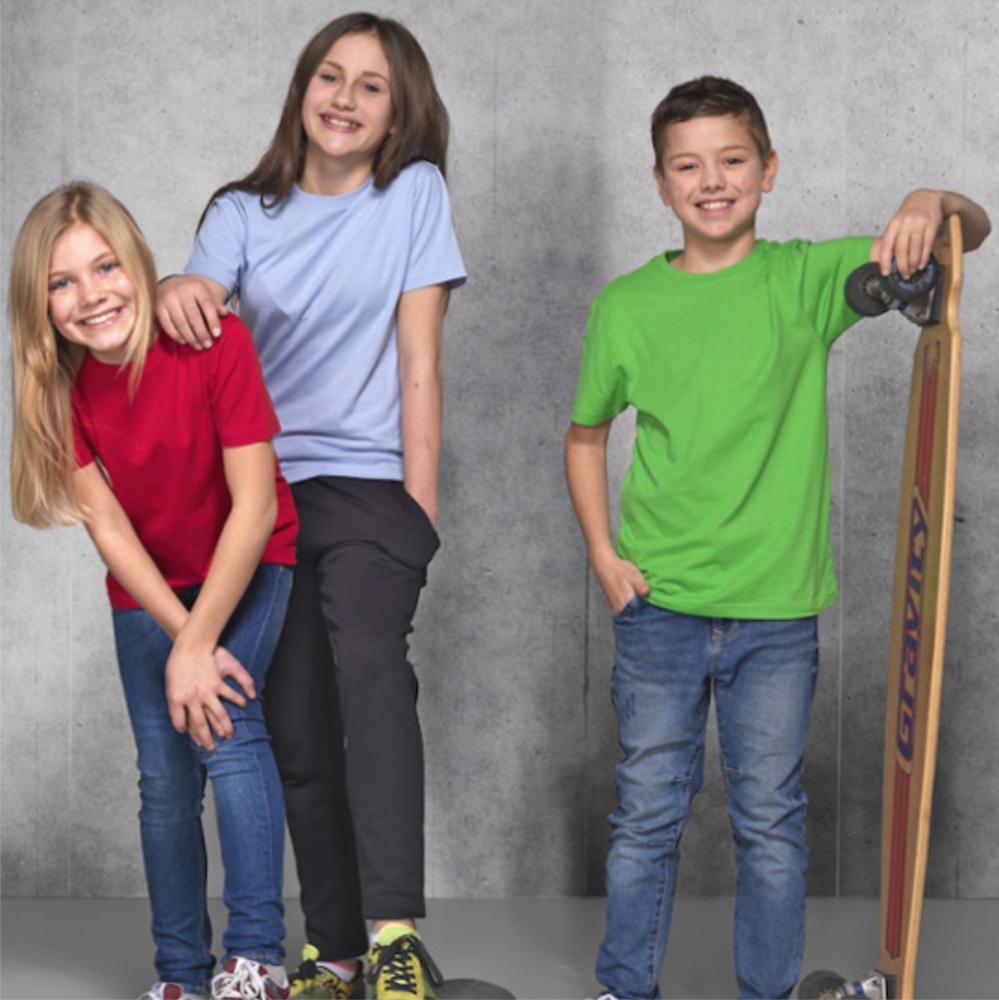 barn ungdoms kläder med tryck