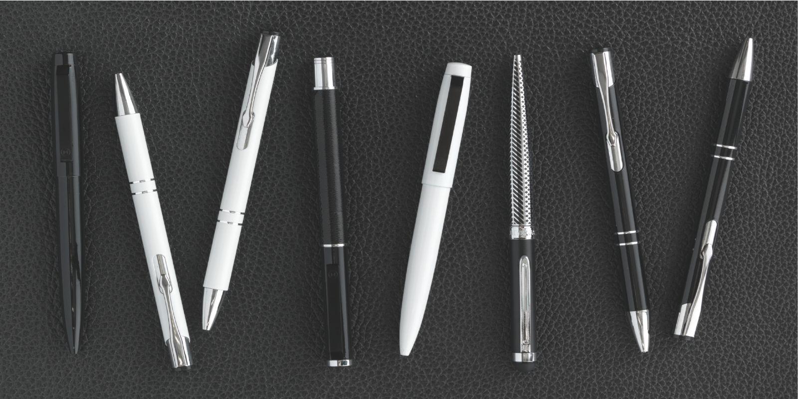 reklampennor pennor med tryck