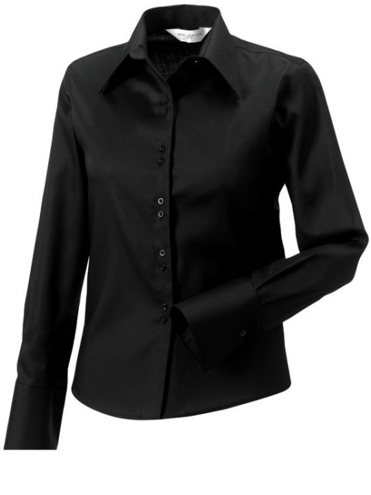 Ladies´LS Ultimate Non iron Shirt Black