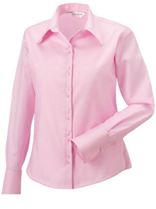 Ladies´LS Ultimate Non iron Shirt Classic Pink