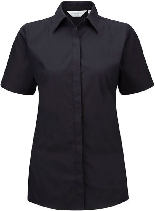 Ladies SS Ultimate Stretch Shirt Black