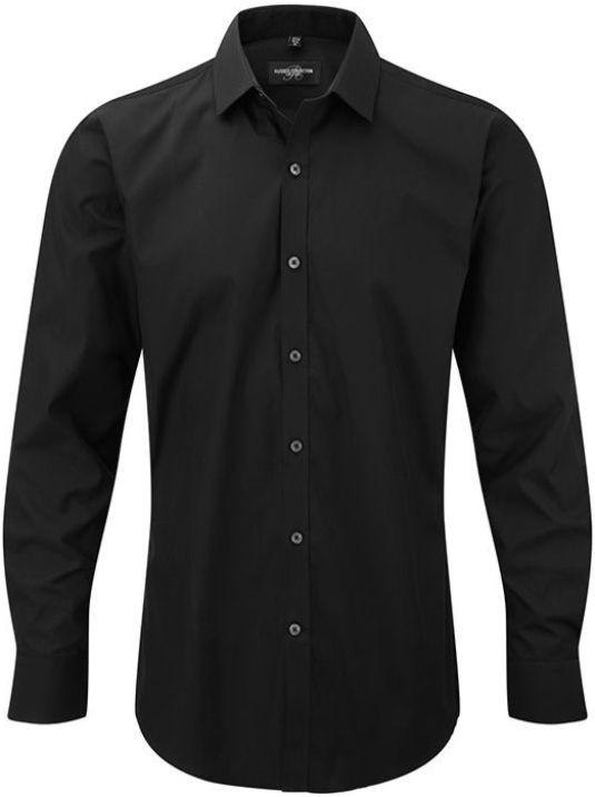 Men´s LS Ultimate Stretch Shirt Black