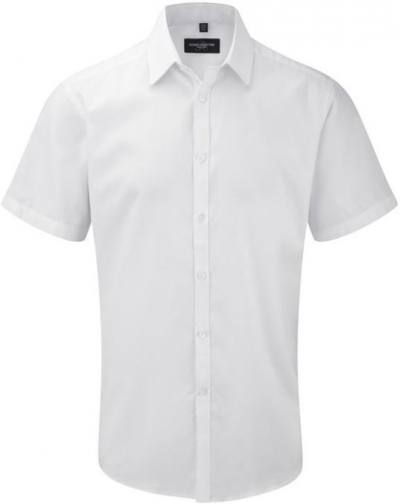 Men´s SS Herringbone Shirt White