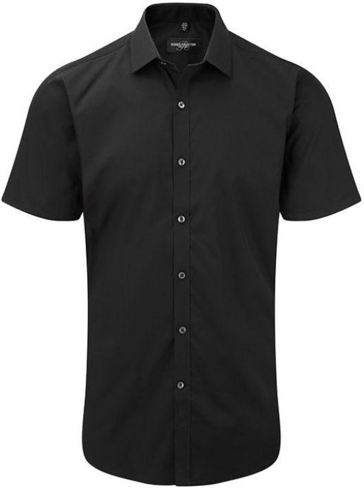Men´s SS Ultimate Stretch Shirt Black