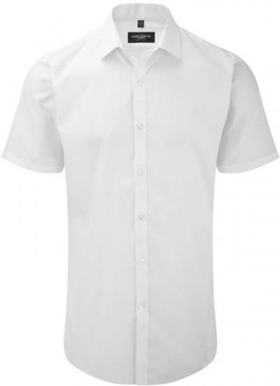 Men´s SS Ultimate Stretch Shirt White