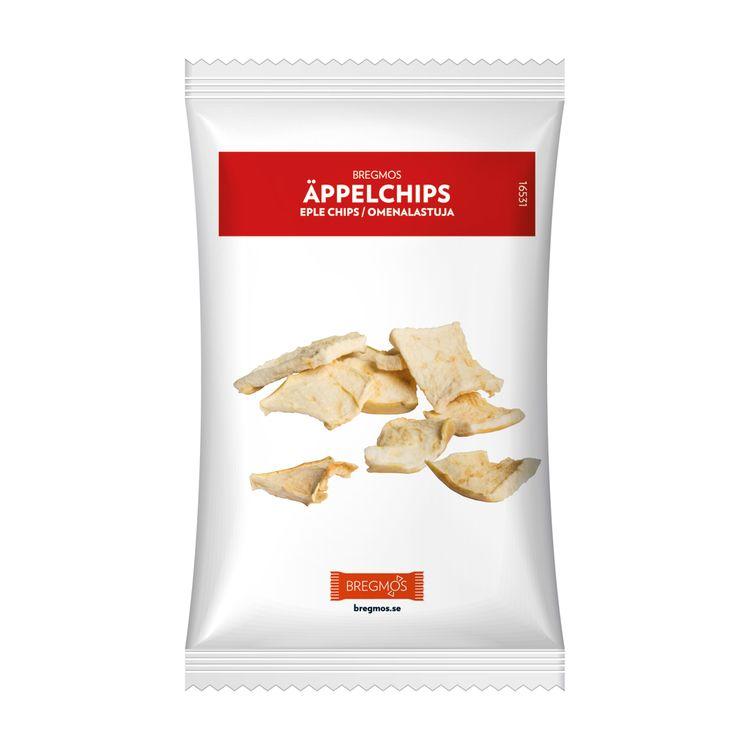 snacks chips och nötter med tryck