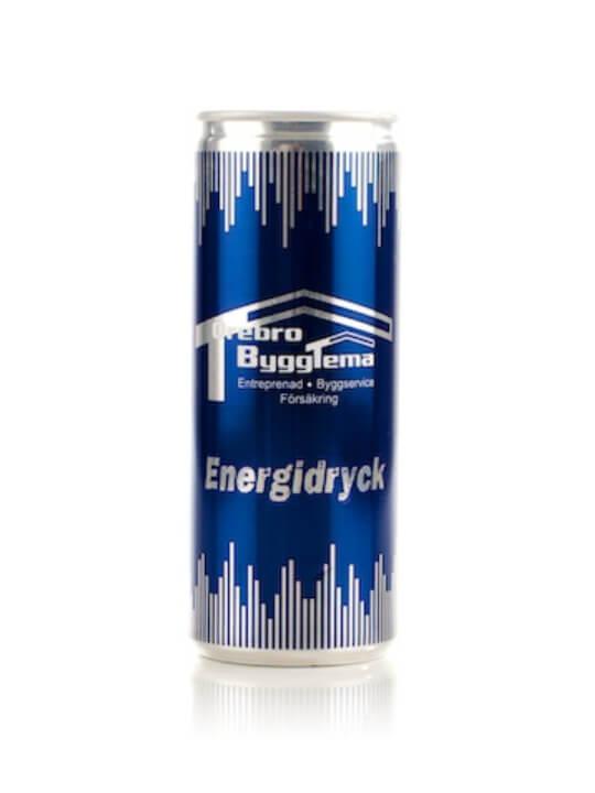 Energidryck med egen etikett 250 ml - tsreklam.se 449c630e3333f