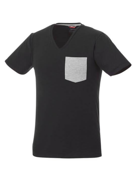 c626196dde4b Kortärmad herr-t-shirt med bröstficka - tsreklam.se