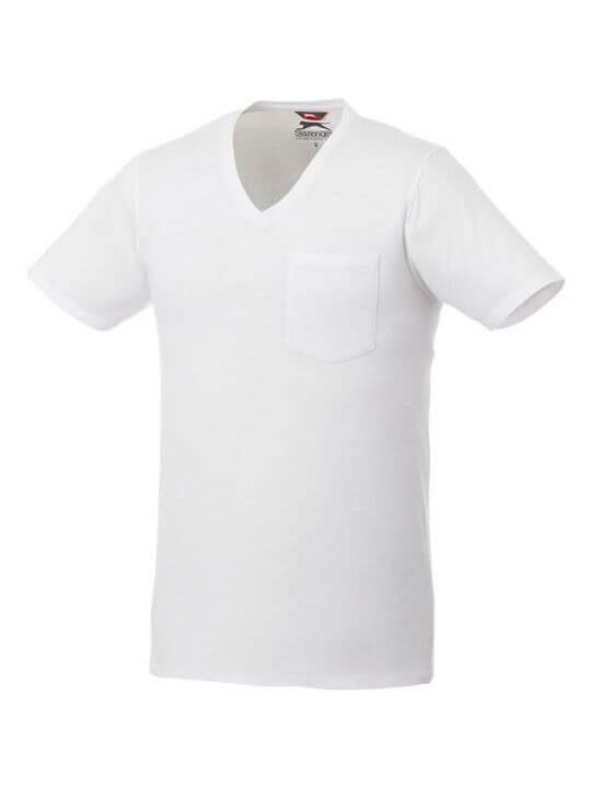 Kortärmad herr t shirt med bröstficka