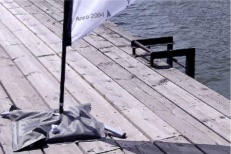 beach flaggor